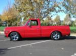 1969 CHEVROLET C-10 CUSTOM PICKUP - Side Profile - 71213