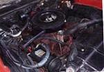 1972 OLDSMOBILE CUTLASS CONVERTIBLE - Engine - 71217