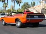 1970 PLYMOUTH CUDA AAR CONVERTIBLE RE-CREATION - Rear 3/4 - 71637