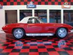 1967 CHEVROLET CORVETTE CONVERTIBLE - Side Profile - 71744