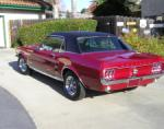 1967 FORD MUSTANG 2 DOOR COUPE - Rear 3/4 - 71839