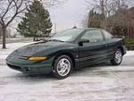 "1995 SATURN 2 DOOR COUPE ""1 MILLIONTH"" - Front 3/4 - 71983"