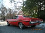 1970 DODGE CHALLENGER R/T COUPE - Rear 3/4 - 72430