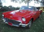 1957 FORD THUNDERBIRD CONVERTIBLE - Front 3/4 - 72753