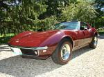 1968 CHEVROLET CORVETTE COUPE - Front 3/4 - 75113