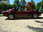 1968 CHEVROLET CORVETTE COUPE - Side Profile - 75113