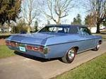 1969 CHEVROLET CAPRICE 2 DOOR HARDTOP - Rear 3/4 - 75232