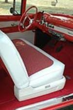 1956 FORD VICTORIA 2 DOOR HARDTOP - Interior - 75278