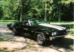 1970 CHEVROLET CHEVELLE SS 454 LS5 CONVERTIBLE - Front 3/4 - 75310