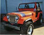 1980 JEEP CJ-5 CONVERTIBLE - Front 3/4 - 75328