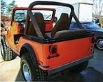 1980 JEEP CJ-5 CONVERTIBLE - Rear 3/4 - 75328