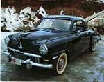 1947 STUDEBAKER CHAMPION 2 DOOR BUSINESS COUPE - Front 3/4 - 75335