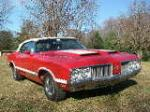 1970 OLDSMOBILE 442 W30 CONVERTIBLE - Front 3/4 - 75479