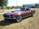1969 FORD MUSTANG MACH 1 428 SCJ FASTBACK - Side Profile - 75505