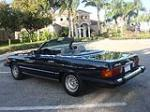 1985 MERCEDES-BENZ 380SL CONVERTIBLE - Rear 3/4 - 75716