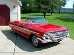 1961 CHEVROLET IMPALA SS CONVERTIBLE - Front 3/4 - 79070