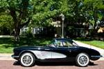 1960 CHEVROLET CORVETTE CONVERTIBLE - Side Profile - 79086