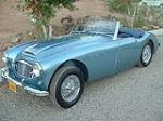 1960 AUSTIN-HEALEY 3000 MARK I ROADSTER - Front 3/4 - 79087