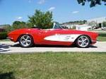 1961 CHEVROLET CORVETTE CONVERTIBLE - Side Profile - 79091