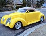 1939 FORD CUSTOM CONVERTIBLE - Front 3/4 - 79137