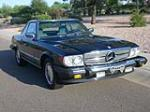 1989 MERCEDES-BENZ 560SL CONVERTIBLE - 79176