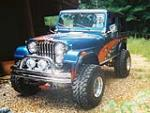 1983 AMERICAN MOTORS JEEP CJ-7 CUSTOM - Front 3/4 - 79234