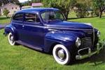 1940 PLYMOUTH DELUXE 2 DOOR SEDAN - Front 3/4 - 79238