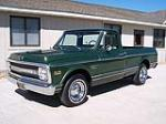 1970 CHEVROLET C-10 FLEETSIDE SHORTBOX PICKUP - Front 3/4 - 79251