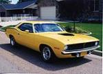 1970 PLYMOUTH BARRACUDA 2 DOOR COUPE - Front 3/4 - 79261