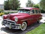 1953 PONTIAC CHIEFTAIN STATION WAGON - Front 3/4 - 79587