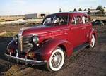 1938 PONTIAC 4 DOOR SEDAN - Front 3/4 - 79647
