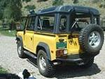 "1994 LAND ROVER DEFENDER 90 2 DOOR SUV ""DON JOHNSONS"" - Rear 3/4 - 79672"