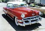 1954 CHEVROLET BEL AIR COUPE - Front 3/4 - 79706