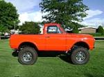 1969 CHEVROLET BLAZER CUSTOM PICKUP - Side Profile - 79773