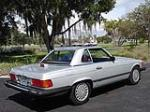 1987 MERCEDES-BENZ 560SL CONVERTIBLE - Rear 3/4 - 79777