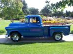 1957 CHEVROLET 3100 TRUCK - Side Profile - 79783