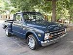 1968 CHEVROLET STEPSIDE PICKUP - Front 3/4 - 79804