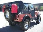 1979 JEEP CJ-5 CONVERTIBLE - Rear 3/4 - 79828