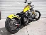 2008 BACKROAD CHOPPERS STREET FIGHTER SOFTTAIL   - Rear 3/4 - 79851