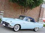 1957 FORD THUNDERBIRD CONVERTIBLE - Side Profile - 80904