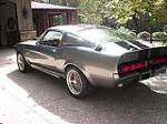 1967 SHELBY GT500E FASTBACK - Rear 3/4 - 80915