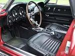 1967 CHEVROLET CORVETTE CONVERTIBLE - Interior - 80920