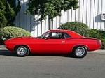 1970 PLYMOUTH CUDA 2 DOOR HARDTOP HEMI RE-CREATION - Side Profile - 80942