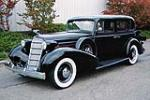 1935 CADILLAC SERIES 10 4 DOOR SEDAN - Front 3/4 - 80945