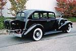 1935 CADILLAC SERIES 10 4 DOOR SEDAN - Rear 3/4 - 80945