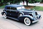 1935 CADILLAC SERIES 40 FLEETWOOD IMPERIAL CONVERTIBLE - Front 3/4 - 80949