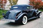 1935 CADILLAC SERIES 40 FLEETWOOD IMPERIAL CONVERTIBLE - Rear 3/4 - 80949