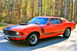 1970 FORD MUSTANG BOSS 302 FASTBACK - Front 3/4 - 80956