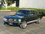 1967 FORD MUSTANG GT COUPE - Front 3/4 - 80976
