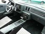 1986 BUICK GRAND NATIONAL 2 DOOR HARDTOP - Interior - 80981